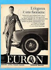 QUATTROR961-PUBBLICITA'/ADVERTISING-1961- EURON - ALTAMODA LANIFICIO-M.BERTOTTO