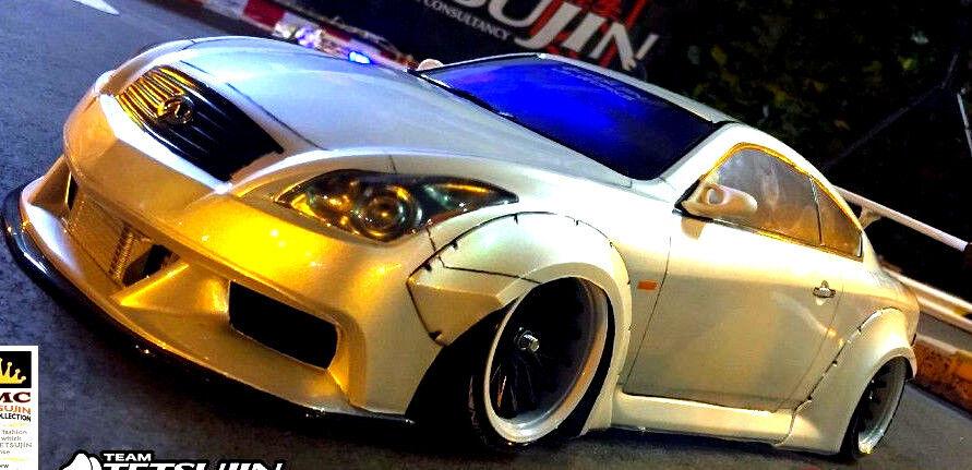 1 10 RC auto corpo  Shell NISSAN cieloLINE V36 INFINITY G35 LB Perforuomoce DRIFT corpo  protezione post-vendita