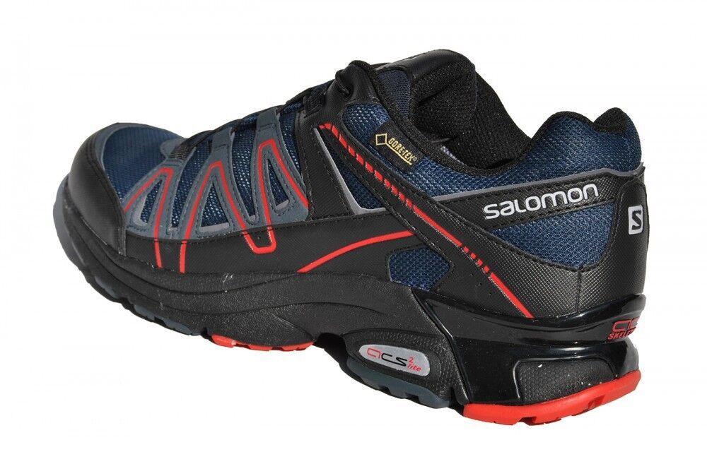 Gore-Tex Salomon XT XT XT Pulse GTX V0 Blau Schwarz Rot Wandern Walking Damen Outdoor  | Erste Klasse in seiner Klasse  0fba98