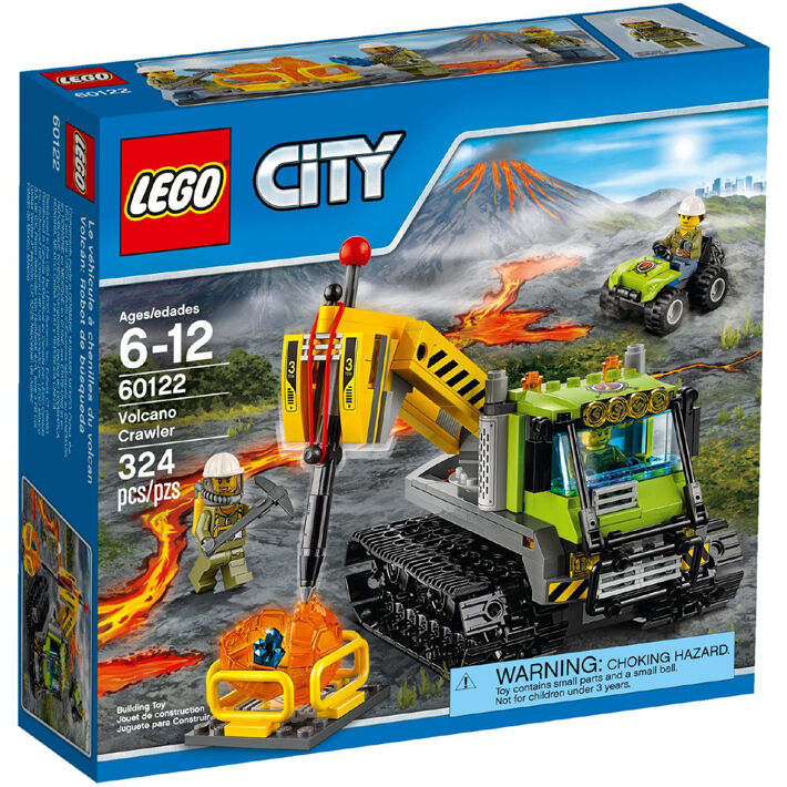 LEGO City Volcano Explorers Volcano Crawler Building 60122