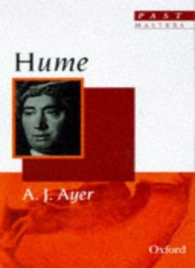 Hume (Past Masters Series),A. J. Ayer