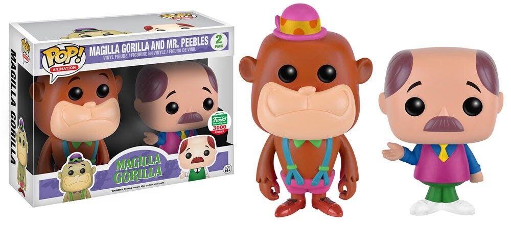 Funko pop magilla gorilla & mr. peebles neon - beschränkt auf 3000 stück
