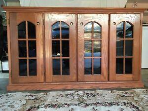 La Cache Wine Credenza : Wine refrigerator credenza wood furniture wooden thing