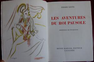 P-Louys-Les-aventures-du-roi-Pausole-Frontispice-de-Touchagues-Kaeser-1947