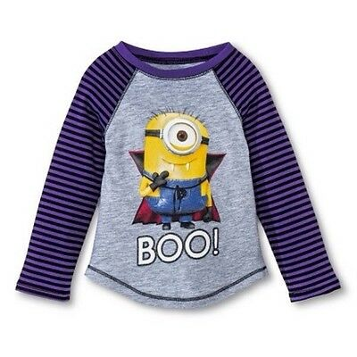 Despicable Me Minions Ghost Halloween T-Shirt 18 Months