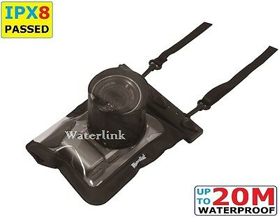 Waterlink IPX8 66 ft Waterproof Case for Olympus EP-5 Olympus PEN-F E-PL7