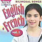 Bilingual Songs: English-French, Vol. 1 by Sara Jordan (CD, 2003, Jordan Music Productions)