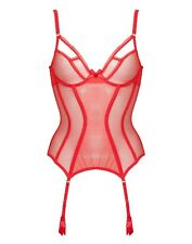 81ef38a134 L agent by Agent Provocateur Mariona Basque Red Size 34b for sale ...