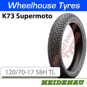 Heidenau K73 120//70-17 58H T//L Supermoto Tyre