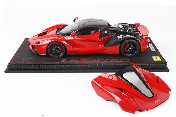 Ferrari LaFerrari 2013 2013 2013 OPEN Red-Carbon Roof 1/18 lim.ed.99  P1867OPEN BBR MODELS | Technologies De Pointe  24597d
