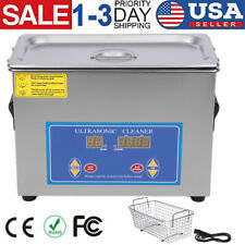 45l Liter Stainless Steel Ultrasonic Cleaner Heated Machine Heater Withtimer