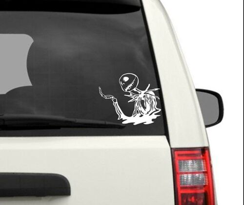 Jack Skellington Nightmare Before Christmas Decal Sticker Car Window