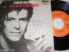 """7"""" - David Bowie / Wild is the Wind & Golden Yeras - 1976 # 2051"""