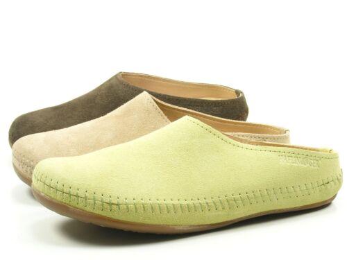 Haflinger 488023-0 Everest Softino Damen Hausschuhe Pantoffeln beige braun grün