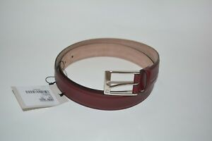 be8ca21eeecc62 NWT GUCCI MENS SMOOTH LEATHER GG BUCKLE BELT SIZE 95 38 MADE IN ...