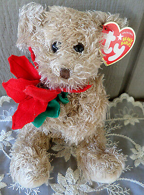 Ty Beanie Baby Teddy Bear Dec. 24 2004 Pellet Filled with Tag - Retired Babies