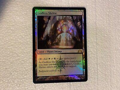 1 x Foil MTG Godless Shrine Magic The Gathering Gatecrash Set Foil