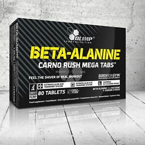 OLIMP-Beta-Alanina-meticolosamente-RUSH-Mega-Tabs-1000MG-energia-forza-e-resistenza