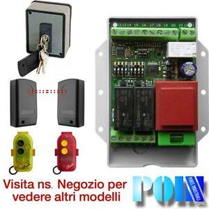 Automatismi Per Serrande Avvolgibili.Kit Automazione Serranda Avvolgibile Garage Selettore Con Sblocco