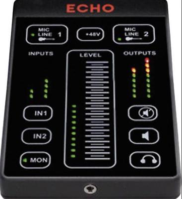 Neu 2x4 Usb-audio-interface Lovely Echo Audio Echo 2 New Cheap Sales Touch Control Panel