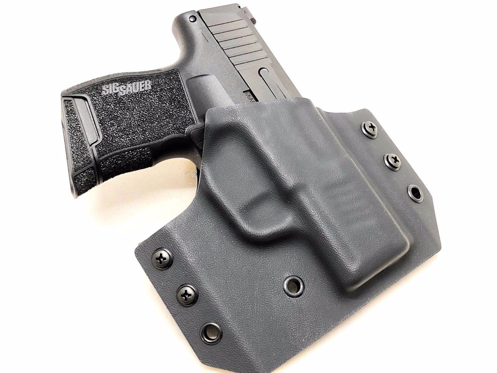 Kydex Gun Holster- for Sig P365 - MOLLE or Belt Mounted