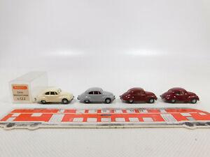 Cn184-0, 5# 4x Wiking h0/1:87 voiture DKW Maître Classe f89: 10 122 etc, top+1x neuf dans sa boîte