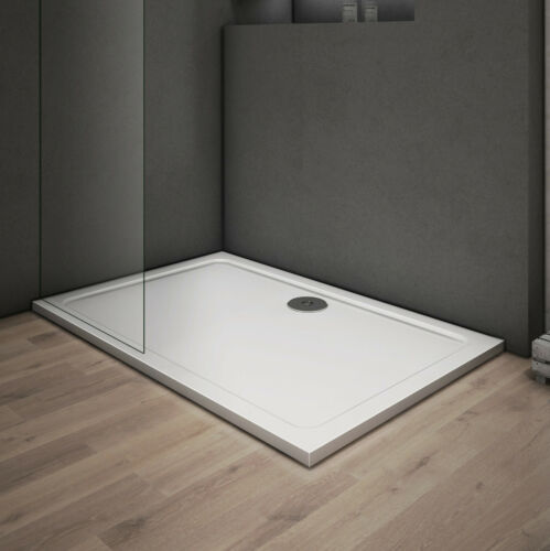 Duschwanne Acryl Duschtasse Dusche Acrylwanne 30mm Quadrat Rechteck Viertelkreis