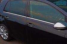 CHROME SIDE DOOR WINDOW SILL TRIM COVERS SET FOR VW VOLKSWAGEN GOLF VII MK7