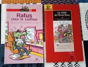 Details Sur Lot De 2 Livres De Poche Ratus La Visite De Mamie Et Ratus Chez Le Coiffeur