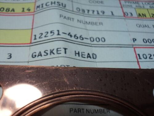 1980 HONDA CR125 CR 125 CYL HEAD GASKET NOS OEM P//N# 12251-466-000
