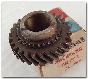 NOS-FORD-C1AZ-7102-B-2ND-GEAR-27T-59-62-352-390-GALAXIE-FAIRLANE-3-SPD-WT279-11B