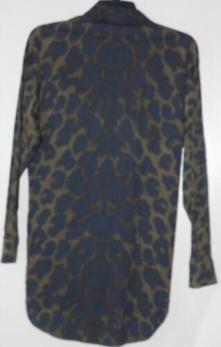 Manica Larga Vestibilità Versus Donna Lunga Animalier Versace pAx7I