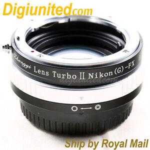 Zhongyi-Lens-Turbo-II-Reducer-Booster-Nikon-F-AI-to-Fujifilm-FX-Adapter-X-E2-T1