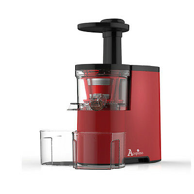 Acopino Piccolino Slow Juicer in Rot