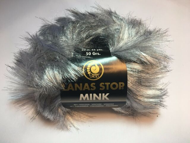 Garn Wolle Lanas Stop LYNX Farbe: 736 Luxuswolle 10x50 Gr 39,98€//kg 10 St