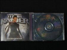 Lara Croft. Tomb Raider. Film Soundtrack. 2-Compact Disc Set. Australian Made.