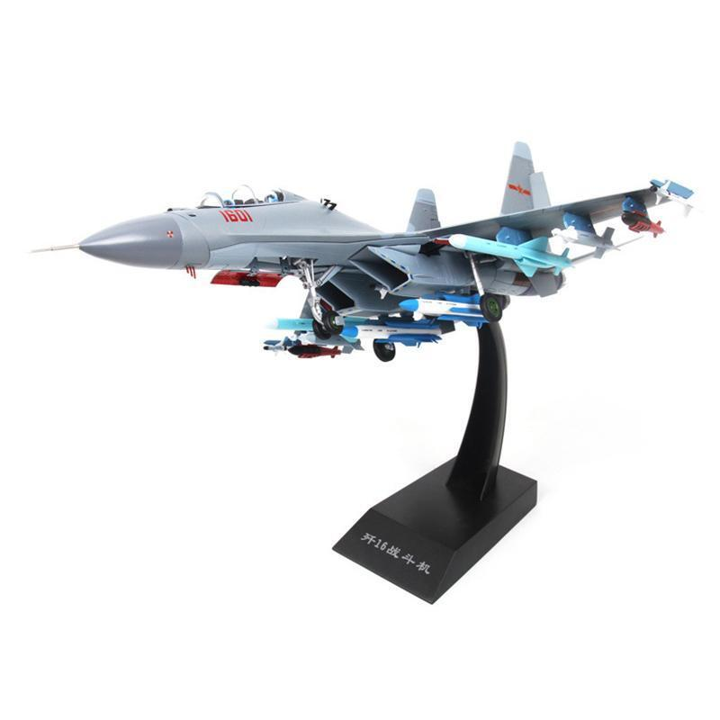 Static Fighter Military Model Aircraft Metal J16 Plane Bomber Gift Jet 1 48
