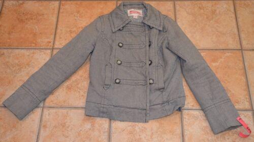 vita petto militare Jacket Steampunk Black Mossimo doppio Petto Coat S Euc AFZ6w
