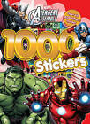 Marvel Avengers Assemble 1000 Stickers: Over 60 Activities Inside! by Parragon Book Service Ltd (Paperback, 2016)