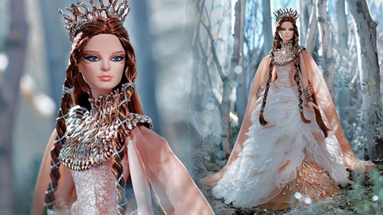 STUNNING FARAWAY FOREST 2015 LADY OF THE blanco WOODS BARBIENEW IN SHIPPER