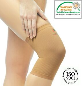Elastic Knee Pain Relief Band Medical Compression Tubular Sleeve