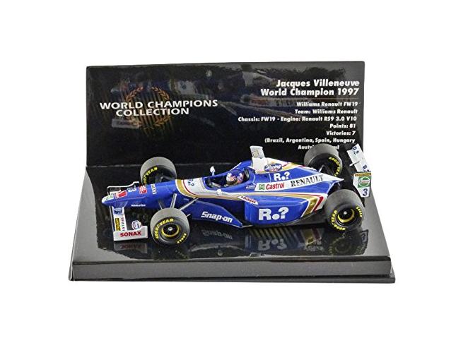 Williams FW19 W.Champion 1997 J.Villeneuve 1 43 (436970003) Minichamps