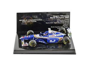 connotación de lujo discreta Williams FW19 W.Champion 1997 J.Villeneuve 1 43 (436970003) (436970003) (436970003) Minichamps  todos los bienes son especiales