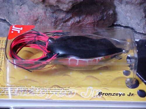 SPRO Bronzeye Topwater Frog SBEF60BLKW JR in BLACK WIDOW for Bass//Pike//Pickerel