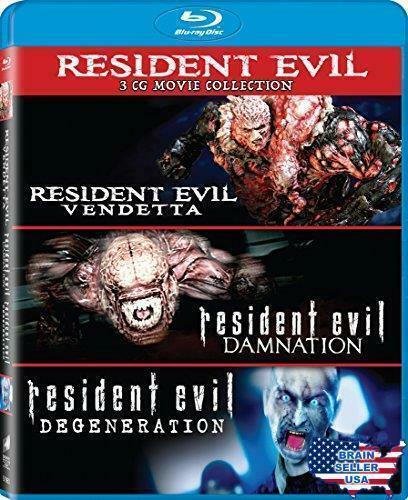 Resident Evil Damnation Resident Evil Degeneration Resident Evil