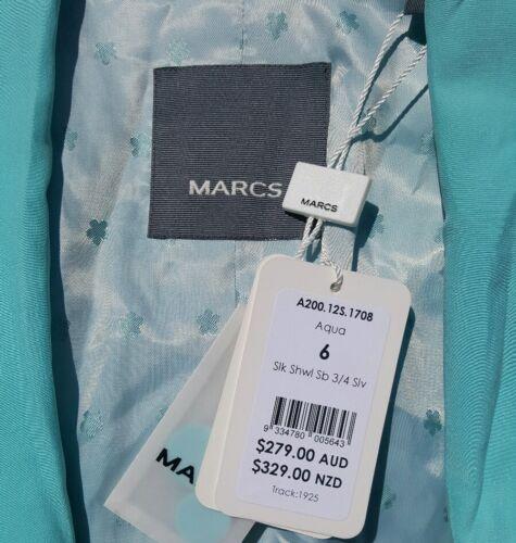 Blue Jacket 100 279 Silk Rrp Size Marcs Designer Australian orange 6 nBAS1x1z7