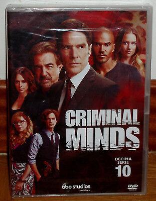 Mentes Criminales 10ª Temporada Completa 5 Dvd Nuevo Español Serie Sin Abrir Ebay