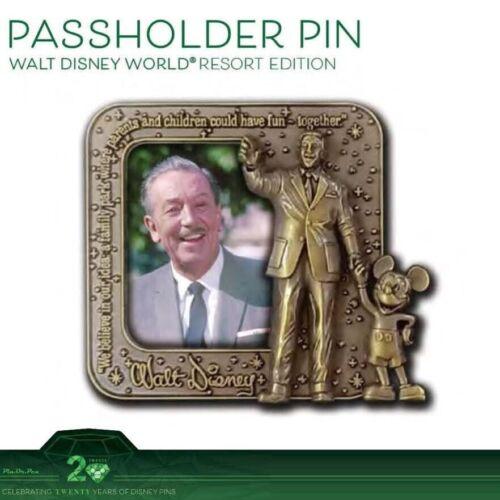 Walt Disney World WDW  Passholder LE 1000 20 Years Of Pin Trading Pre-Sale