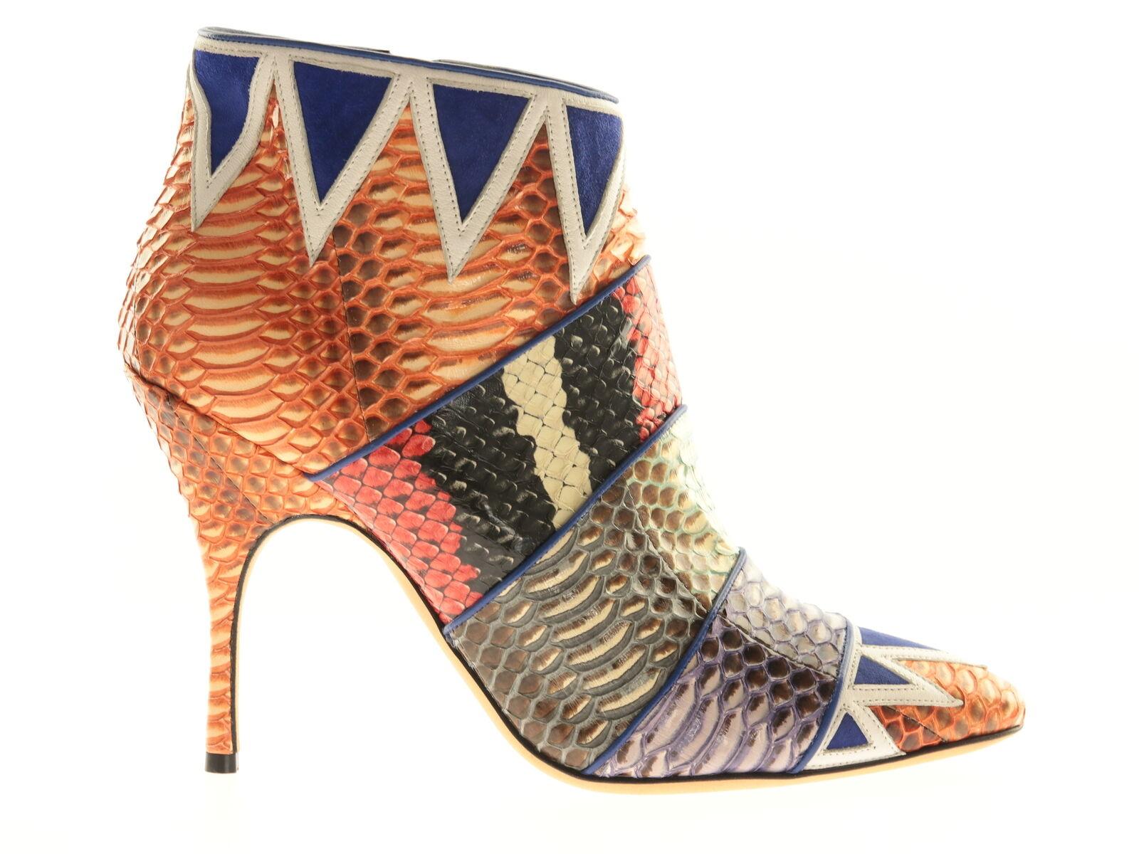 Manolo Blahnik Inuk 105 Damen Absatzschuhe Mehrfarbig Leder