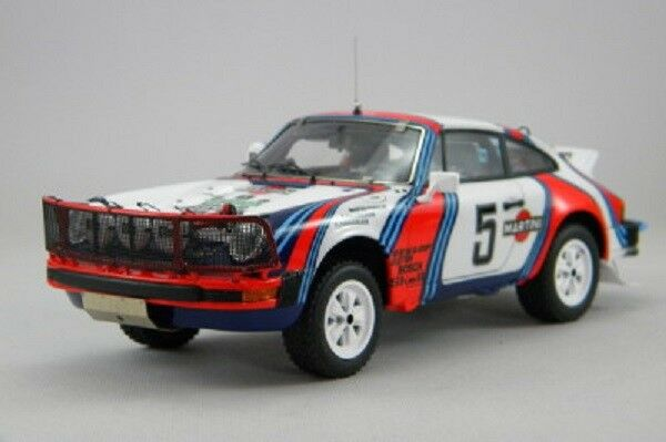 <kit Porsche 911 SC Martini  5 Safari Rally 1978 - Arena Models kit 1 24